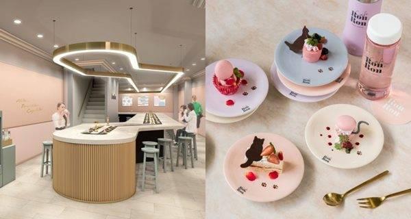 「迴轉甜品café」於原宿登場!馬卡龍、冰淇淋全都排好隊轉~轉~轉到胃裡吧!