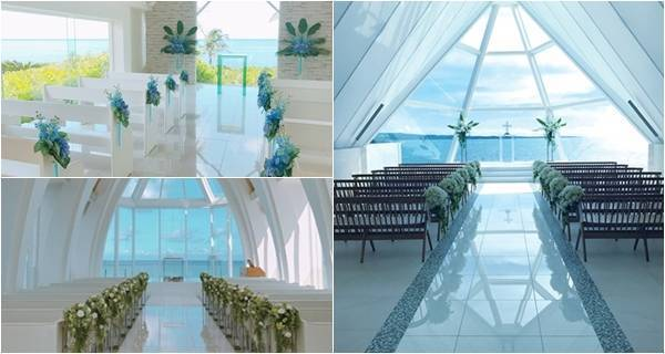 新人絕對不能錯過!沖繩現在最高人氣3大婚禮教堂