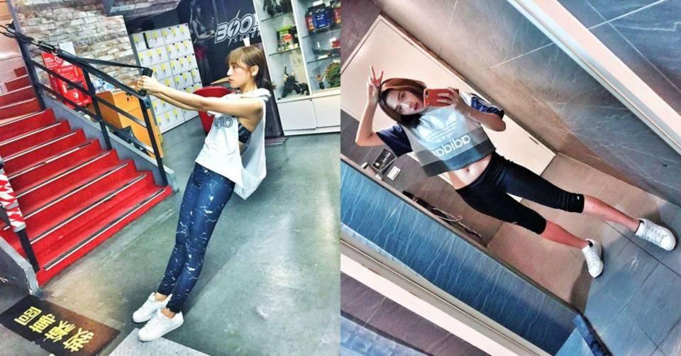【健康輕生活】健身讓我更有自信! Dora謝雨芝從標準「泡芙人」練出馬甲線