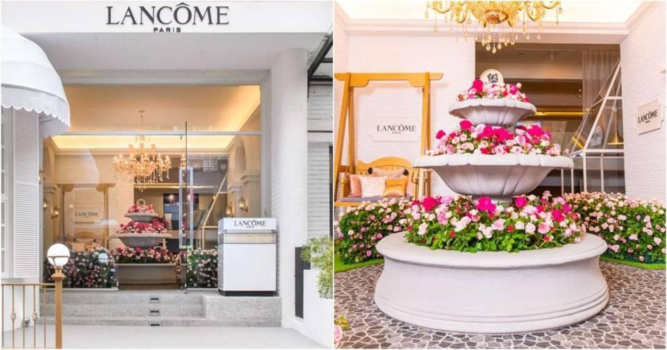 【網美打卡熱點】 把全台的玫瑰花都搬來了!蘭蔻法式玫瑰花園、萬元精品乳霜馬上體驗!