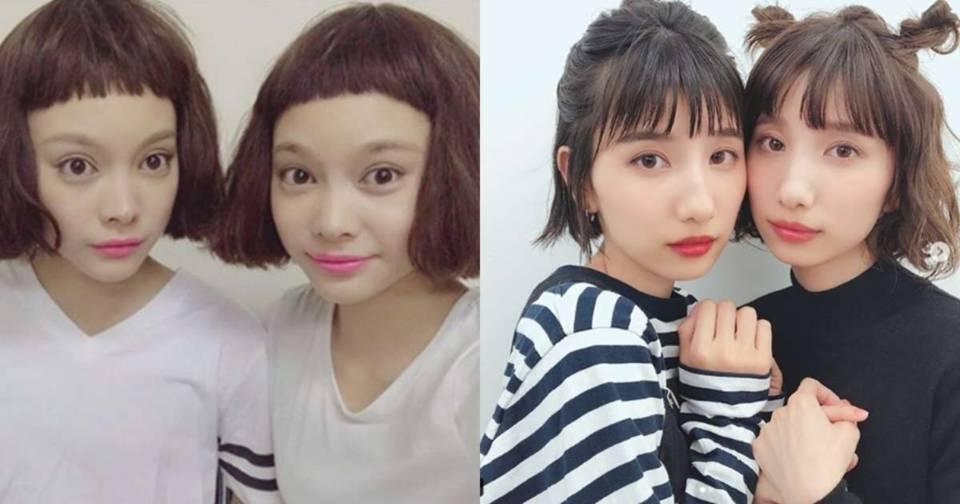 時尚度也DOUBLE!看這些一同勇闖時尚圈的日本雙子姊妹花!