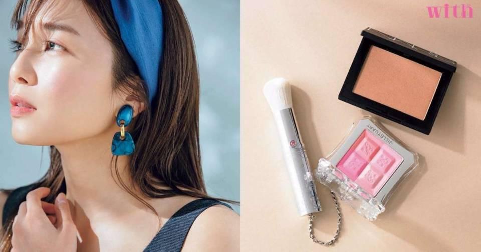 讓粉色腮紅不顯幼稚的方法?25歲後必學的漂亮>甜美妝容