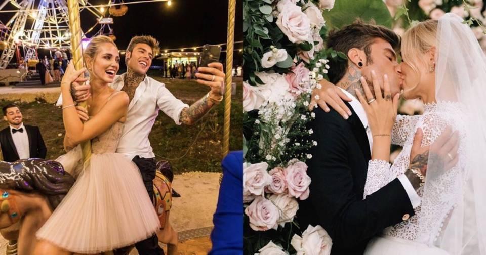 摩天輪+煙火超豪華規格,宇宙級網紅Chiara Ferragni夢幻出嫁啦!