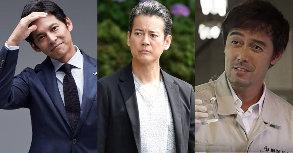 唐澤壽明、織田裕二、阿部寬來場大叔們的帥逆襲!
