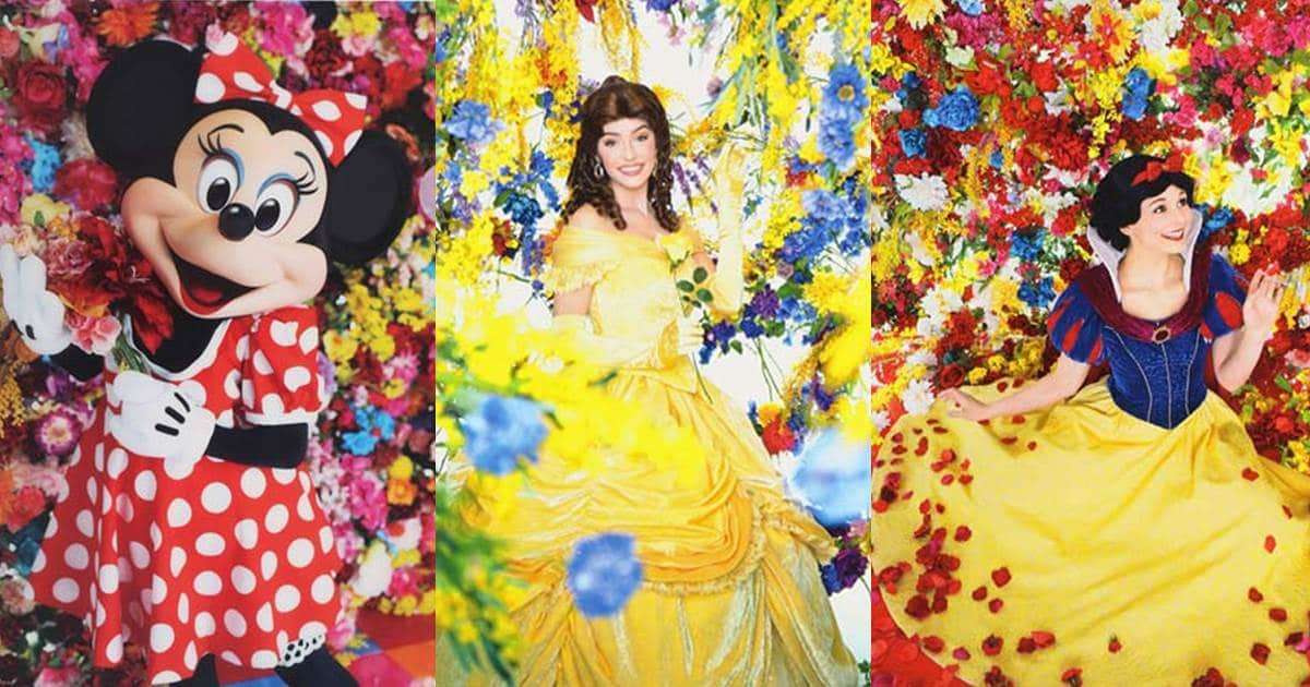 東京迪士尼35周年x蜷川實花聯合企劃!不只米妮、連公主們都被拍的美美der!