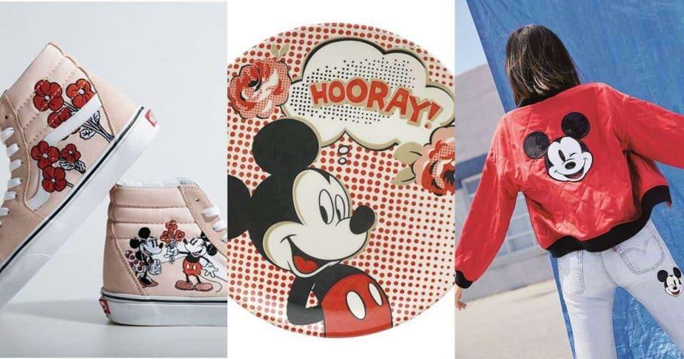 米奇90周年生日太霸氣!蛋糕、水晶、鞋包各種聯名狂刷屏!