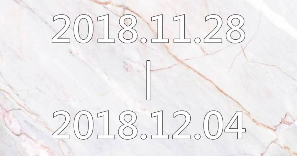 【黛瑪蔻生日幸運色彩】2018.11.28-2018.12.04生日幸運色彩