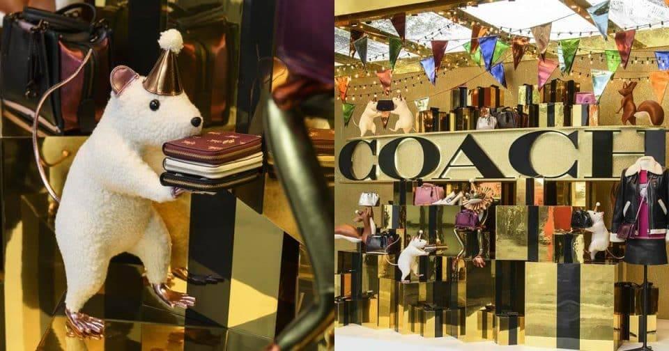 年末的歡樂氛圍!最高!COACH「HOLIDAY」系列概念店和小動物們一起狂歡送禮!