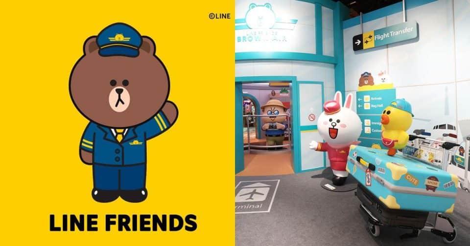 請繫好安全帶!「熊大航空」即將起飛啦!和所有妳愛的LINE FRIENDS一起環遊世界!