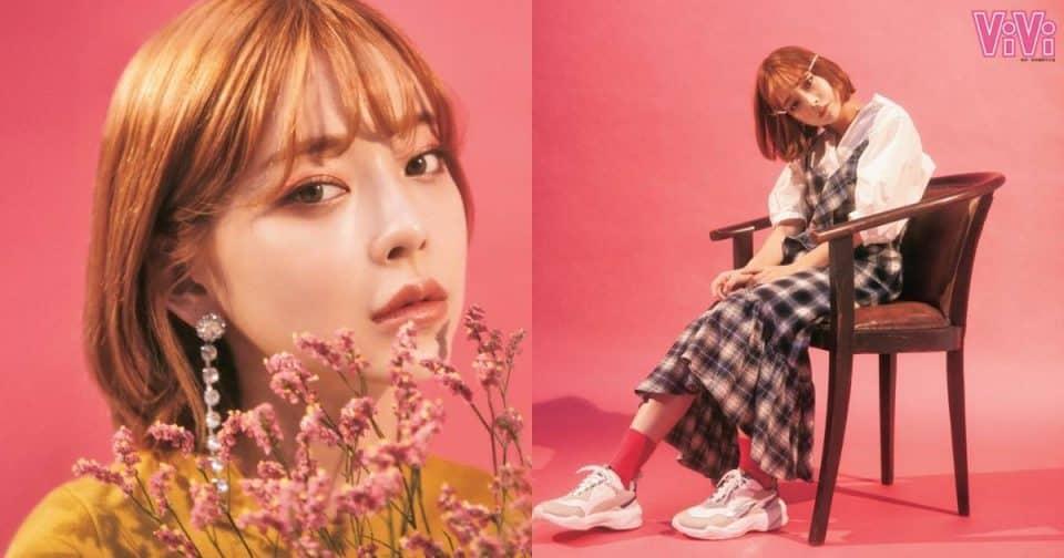 韓國歐巴心中最完美女友臉蛋!讓TAERI教妳撩男心機秋天穿搭