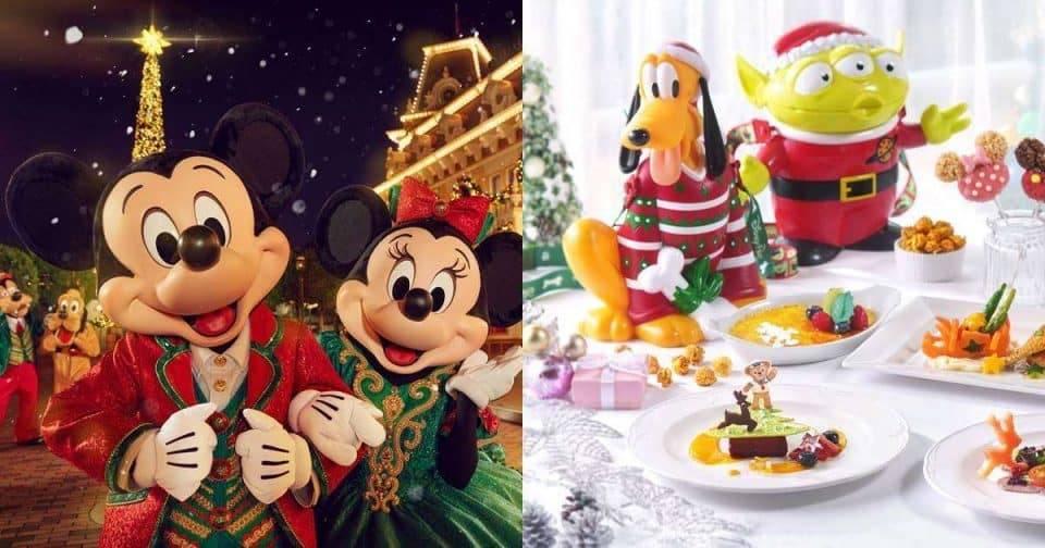 滿天的聖誕飄雪也太浪漫了!「香港迪士尼」超夢幻聖誕派對現在就能GO!