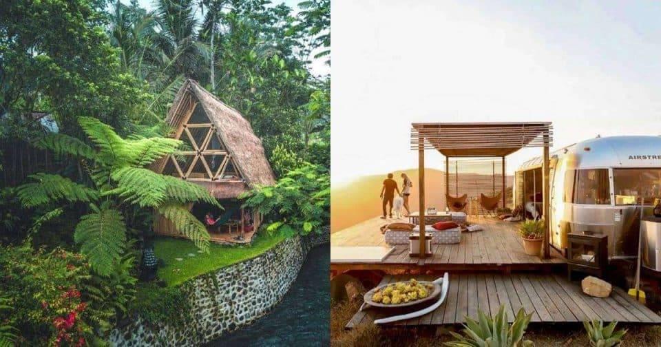 3間夢幻野外旅店!讓妳出走城市,在叢林與荒野間找回最真實的自我