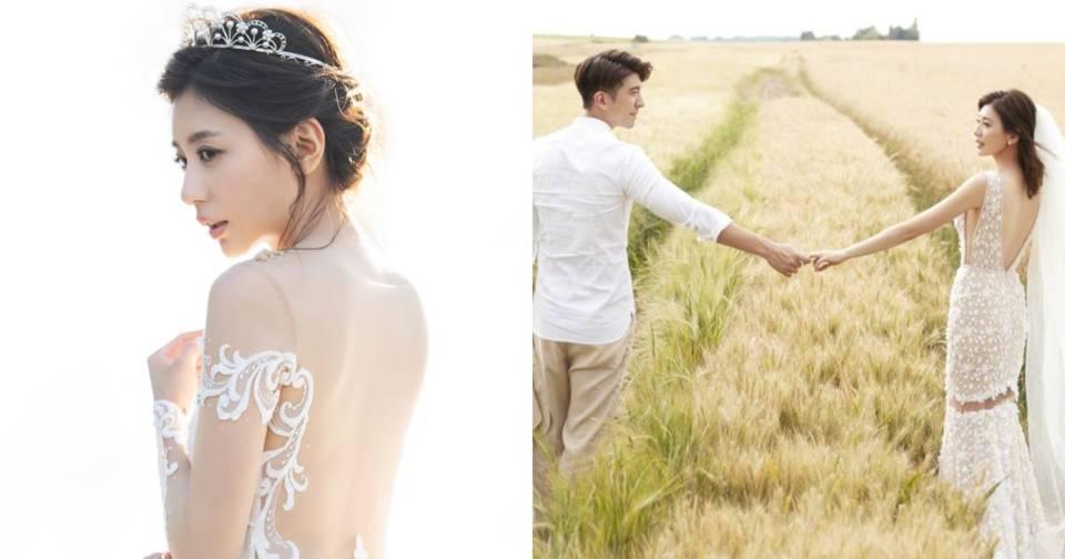 總有一天也要這麼美!盤點賈靜雯浪漫婚禮上的全飾品!