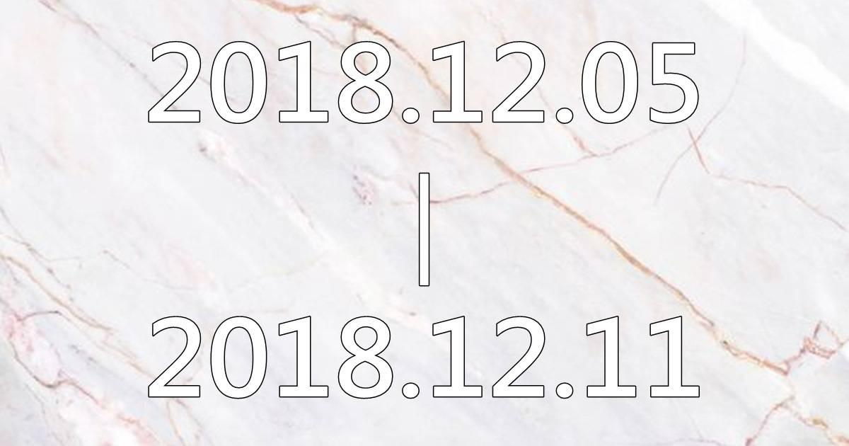 【黛瑪蔻生日幸運色彩】2018.12.05-2018.12.11生日幸運色彩