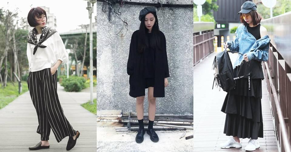Black outfit x Dappei 直擊!暖冬的街頭黑色風潮