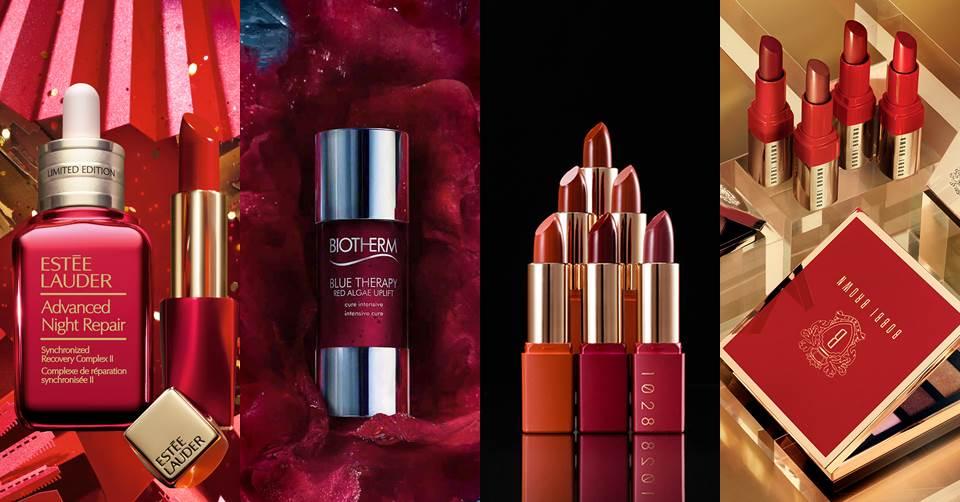 新年妝「紅」小心機!開運好氣色讓妳尾牙、拜年更討喜